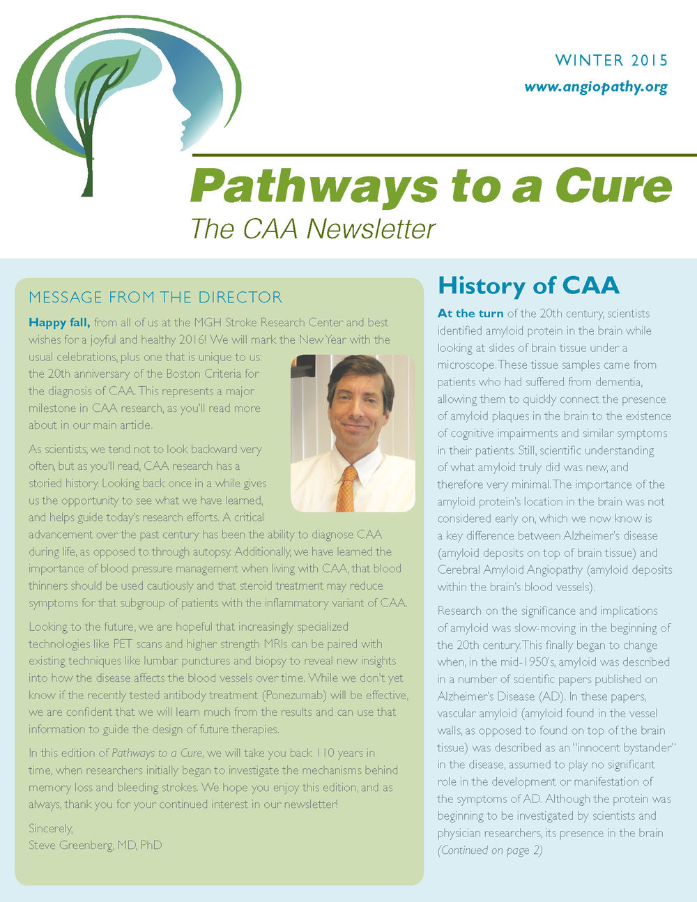 6th Edition - CAA Newsletter - Winter 2015_Page_1.jpg