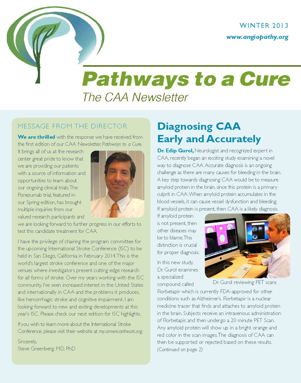 2nd Edition - CAA Newsletter - Winter 2013_Page_1.jpg