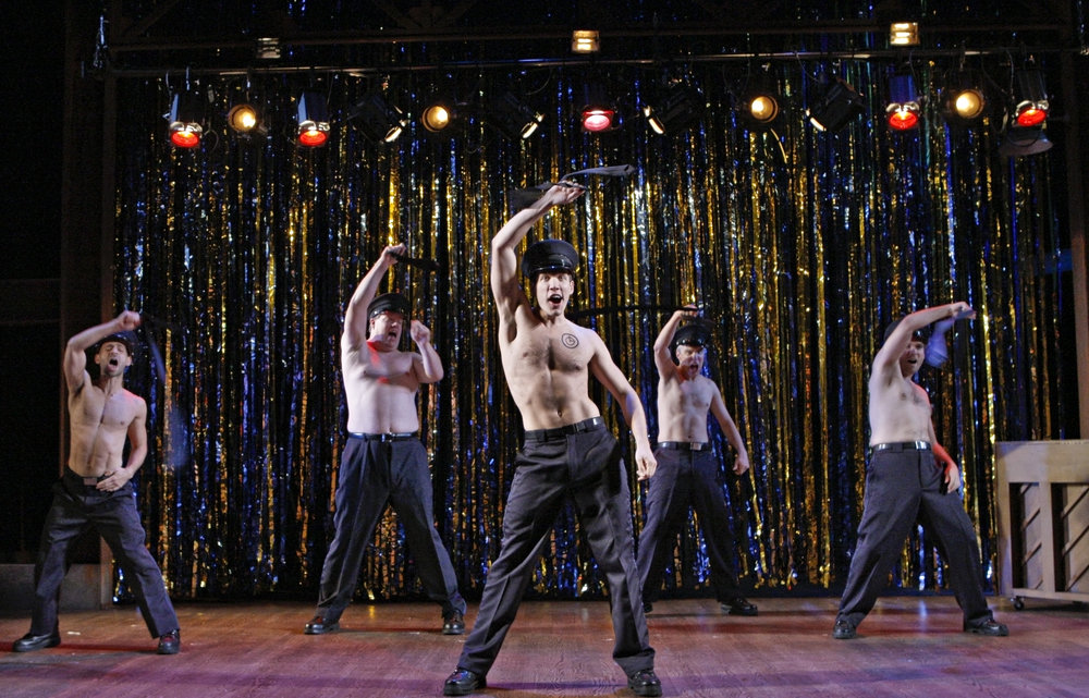 THE FULL MONTY, Theater Latté Da at the Ordway, McKnight Theatre, 2009