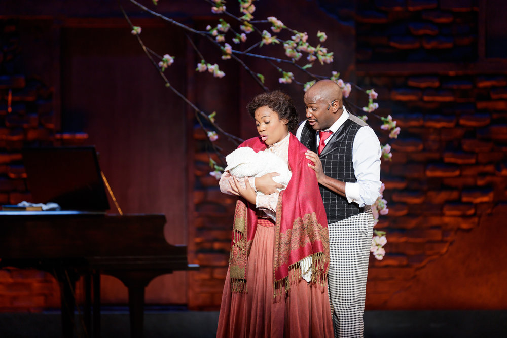 Danyel Fulton as Sarah and Douglas Lyons as Coalhouse Walker, Jr. in Ragtime - Photo Credit Mark Kitaoka.jpg