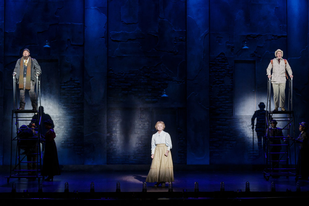 Joshua Carter as Tateh, Kendra Kassebaum as Mother, and Louis Hobson as Father in Ragtime - Photo Credit Mark Kitaoka.jpg