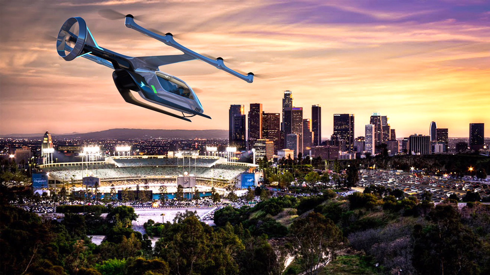Embraer hopes to have a VTOL like this flying in 2023.