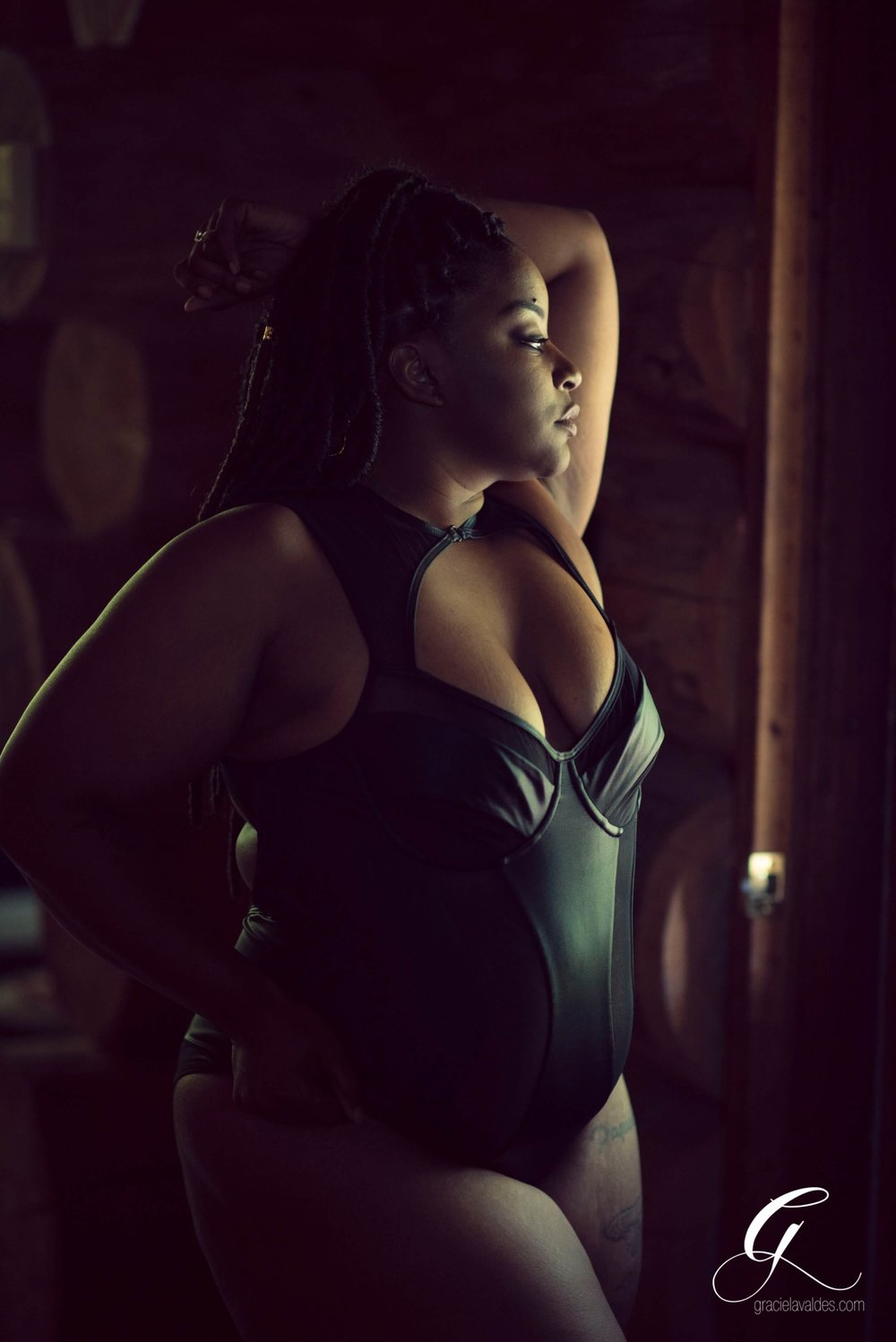 Plus Size Woman of Color Boudoir by Graciela Valdes -4.jpg