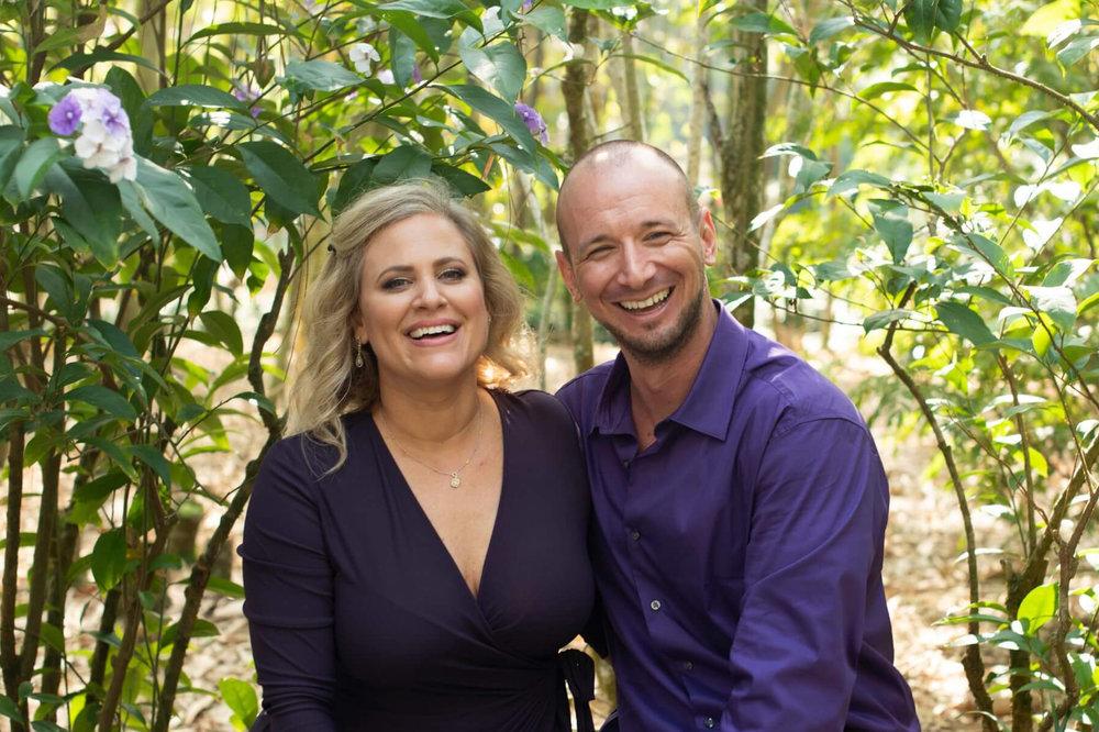 Dr. Eva Brown Brown & Husband, Paul Burnett