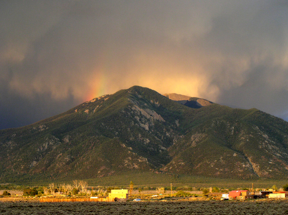 Taos Mountain by YoTuT via Flickr