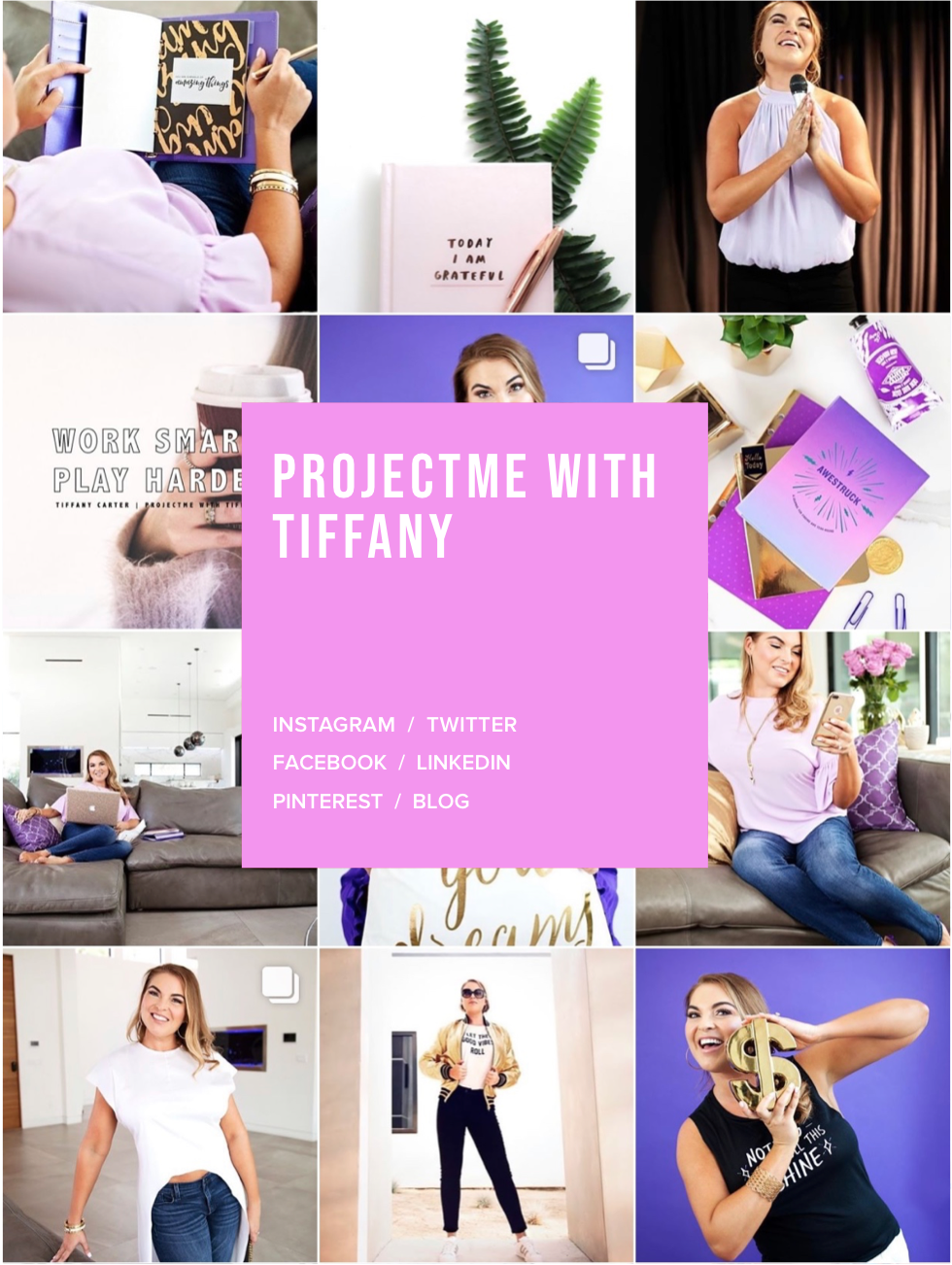 PROJECTME With Tiffany