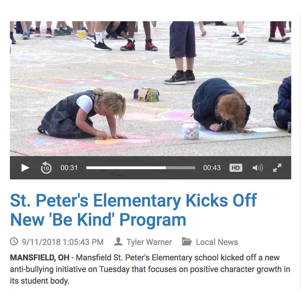St. Peters Be Kind Program Ohio