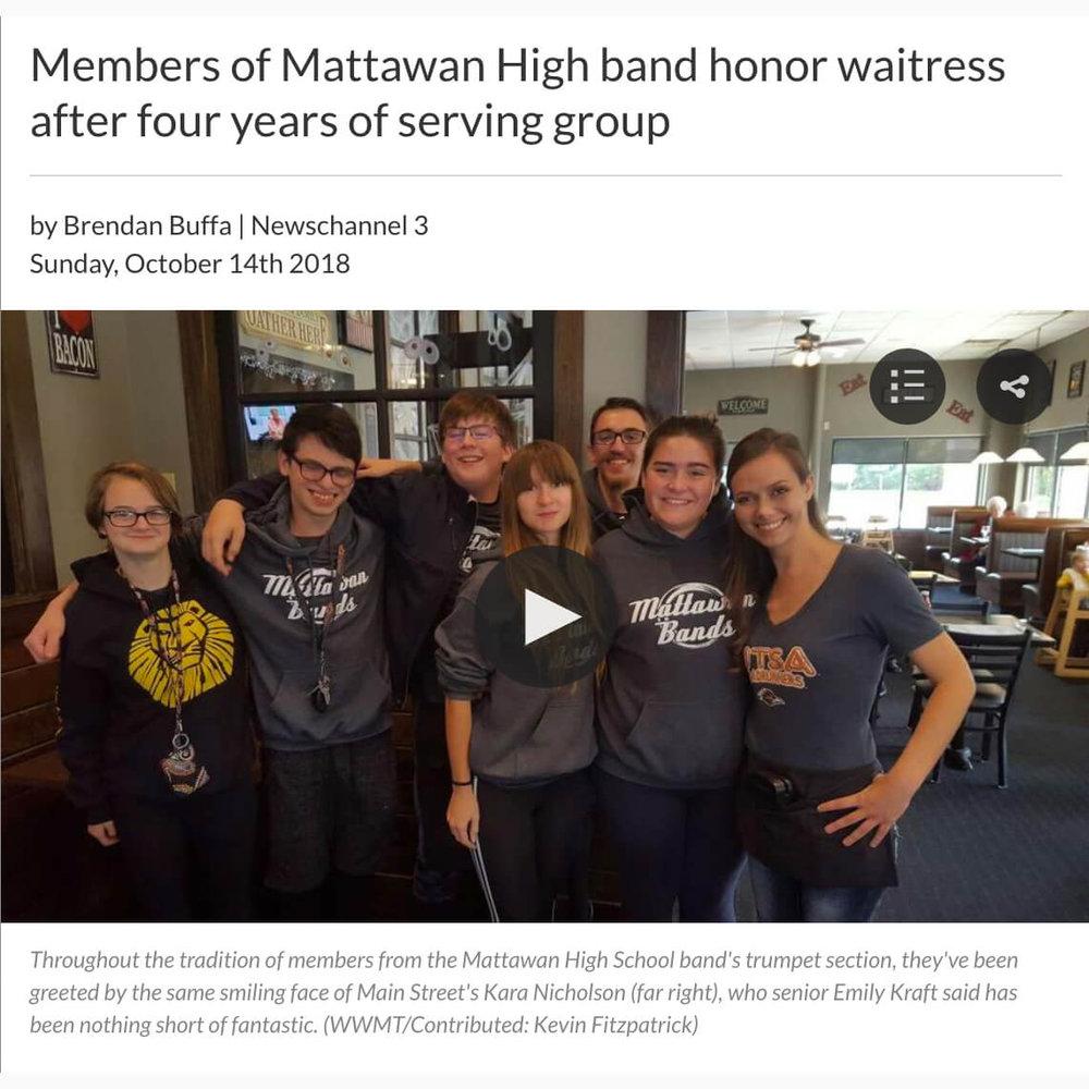 Band Tips Waitress