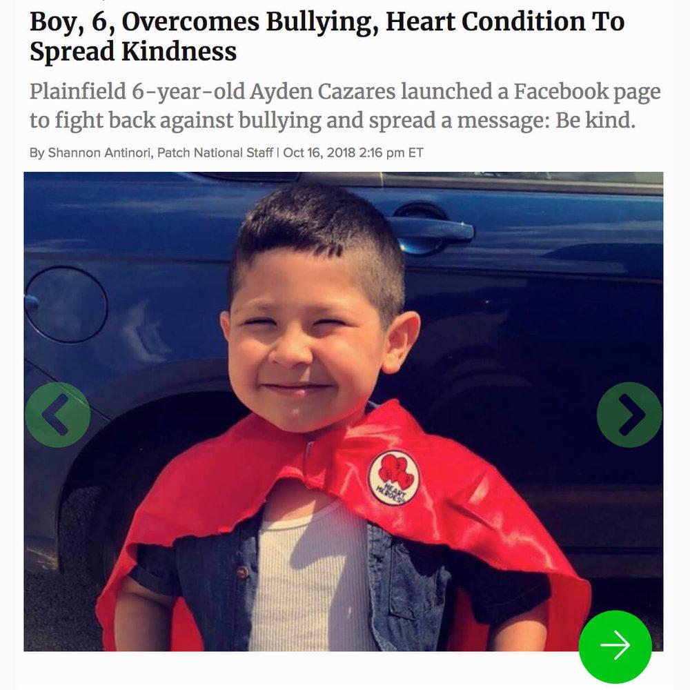 Heart Hero Against Bullying