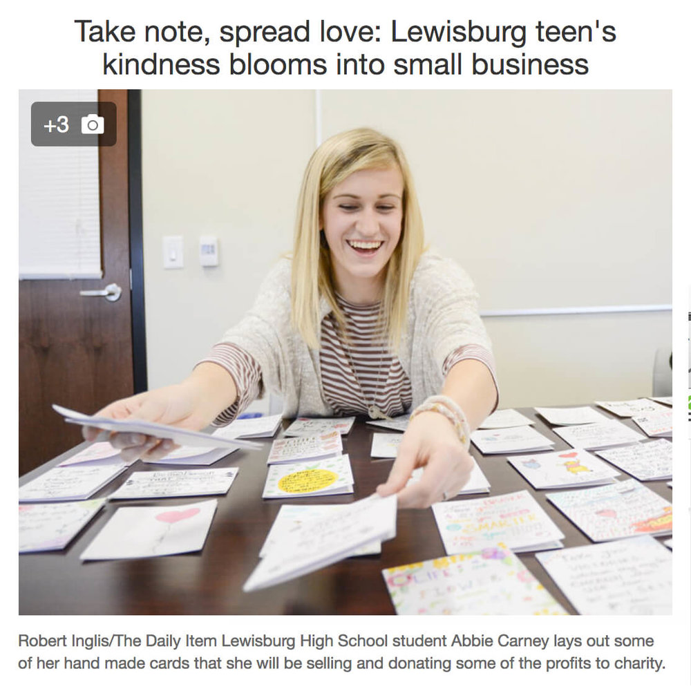 Lewisburg Teen Card Business