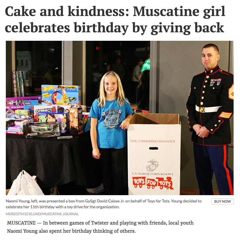 Toys for Tots Birthday