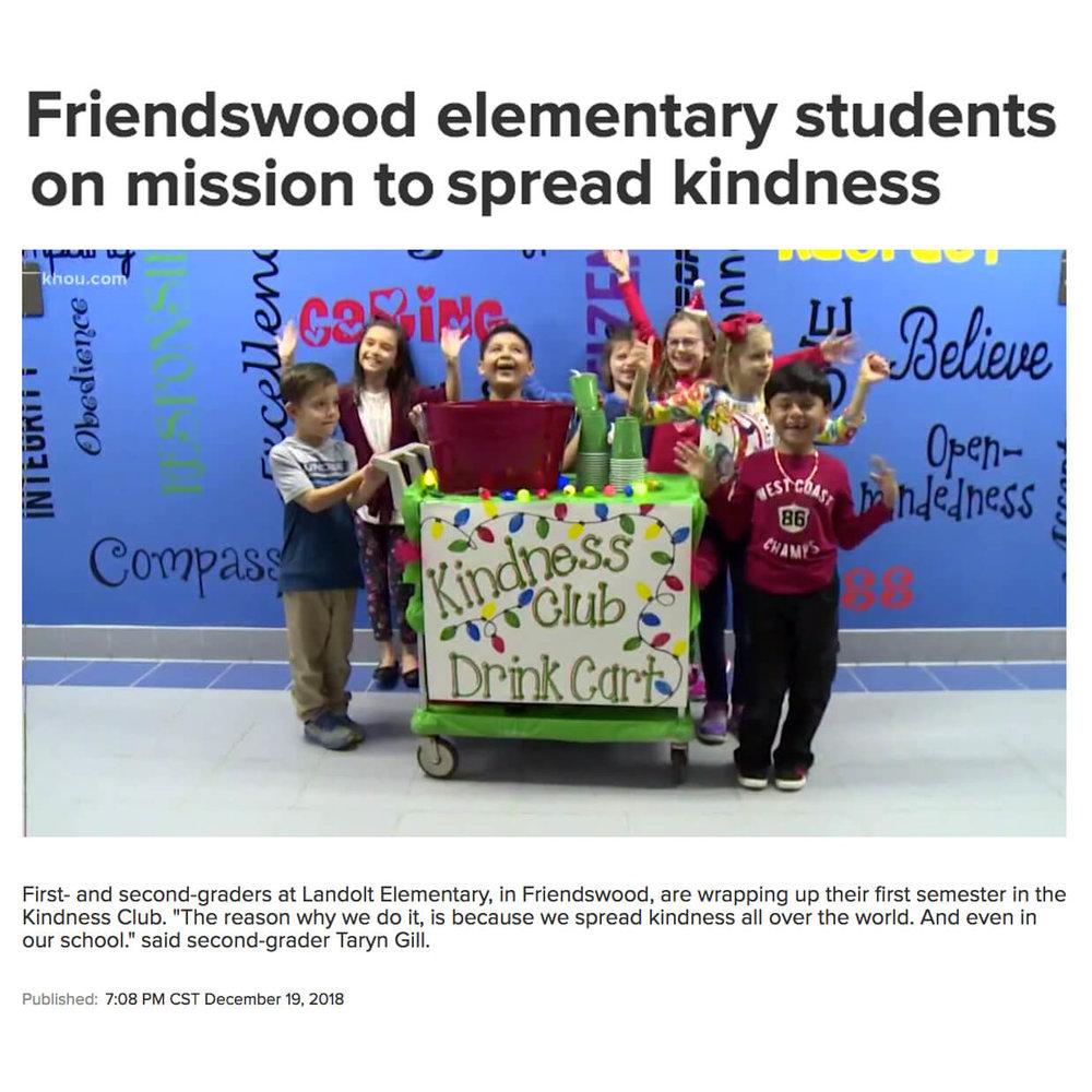 Friendswood Kindness Club