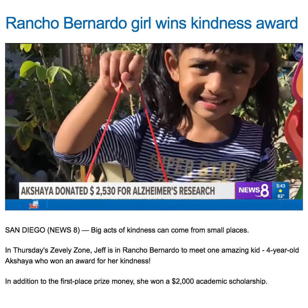 Walk for Alzheimers in Rancho Bernardo