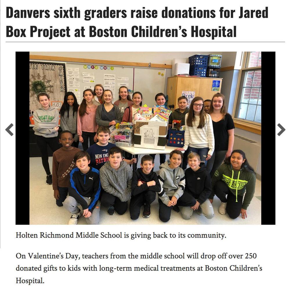 Jared Box Project
