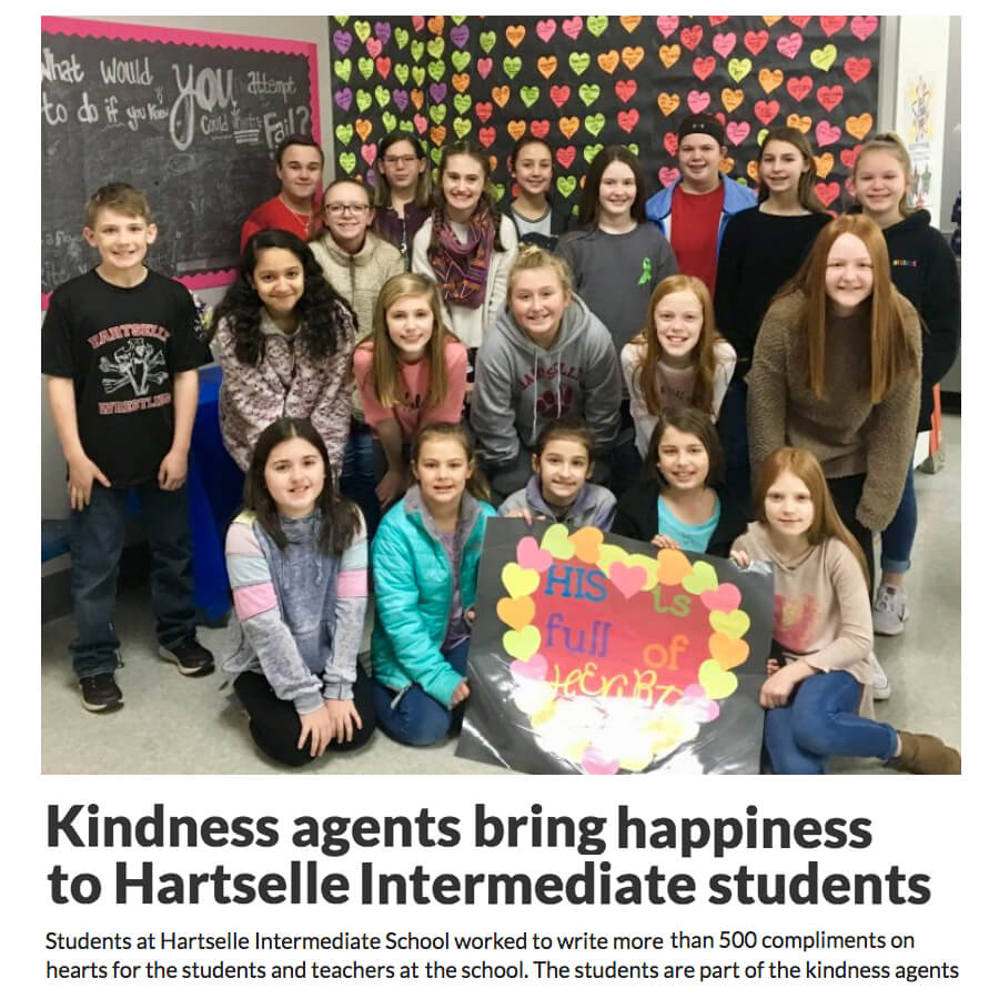 Kindness Agent Valentines