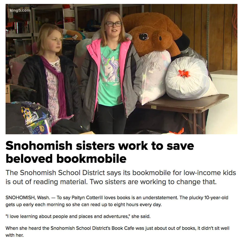 Sisters Save Bookmobile