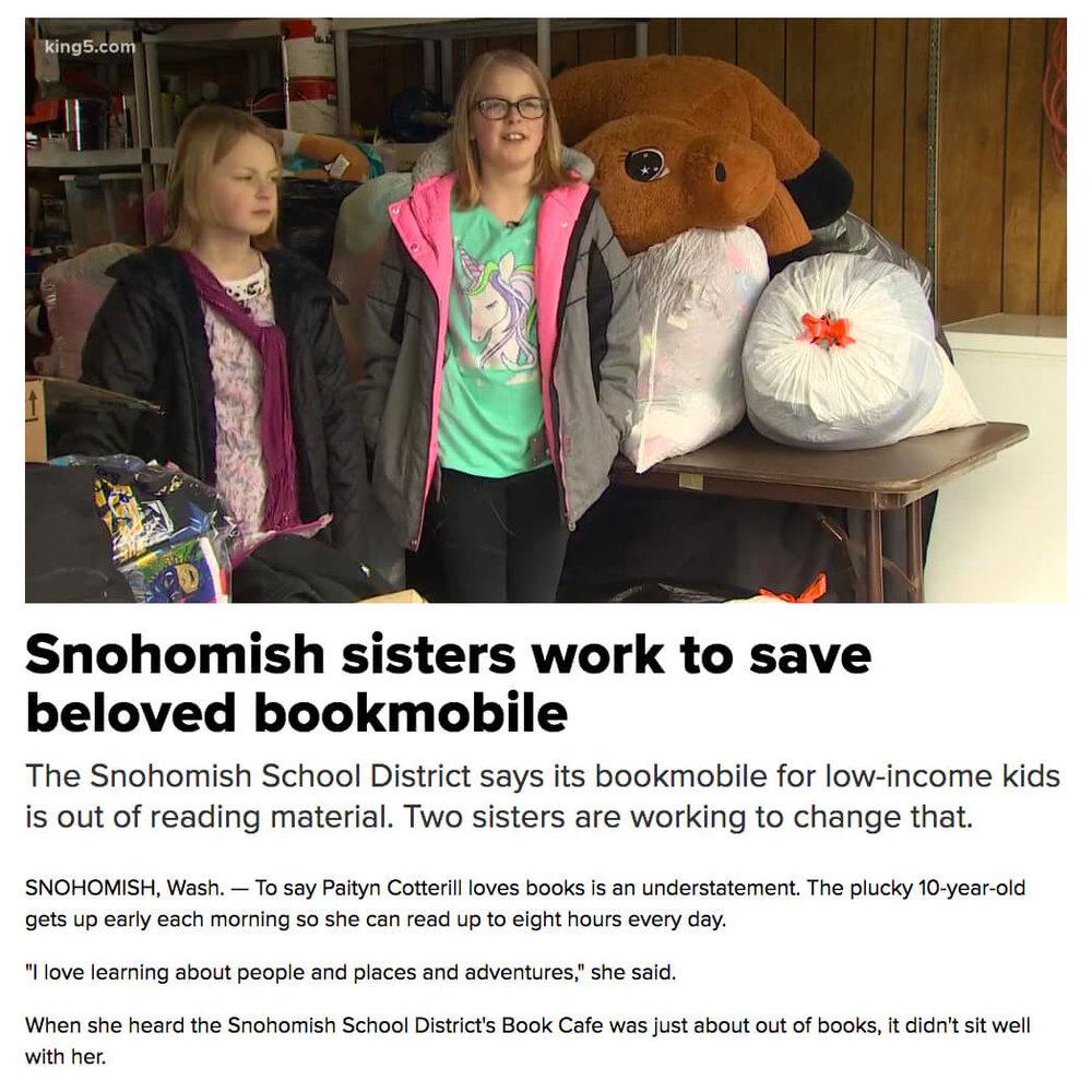Sisters Save Bookmobile