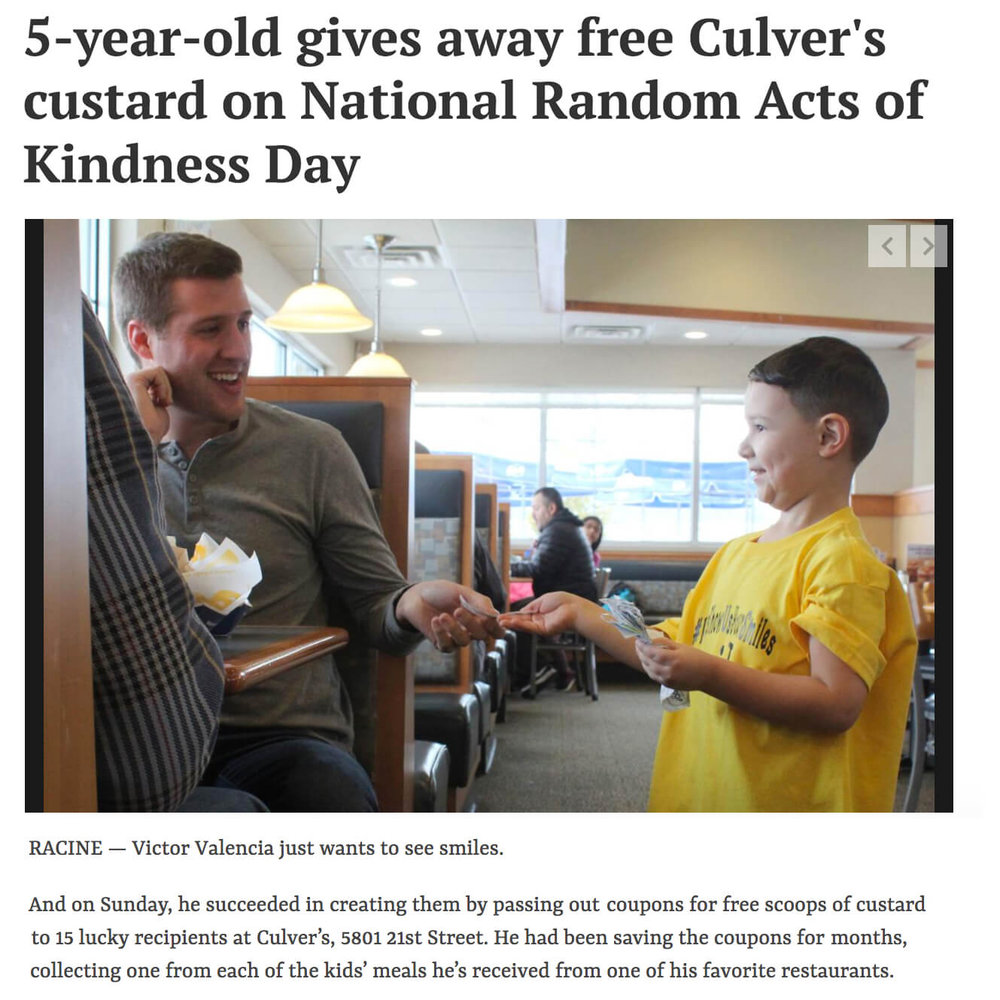 Culvers Coupons Kindness Day