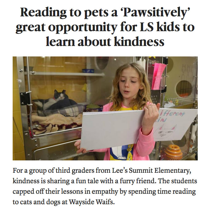 Pawsitively Spreading Kindness