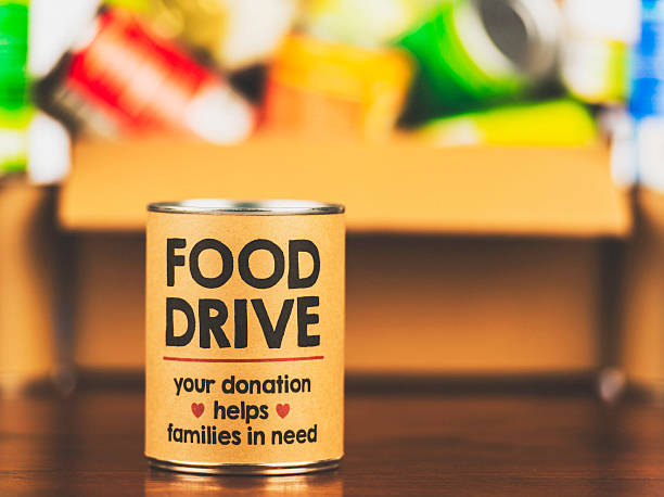 Food Drive - 1st Sunday of every month.