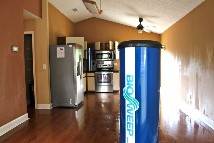 BIOSWEEP MACHINE IN A HOME