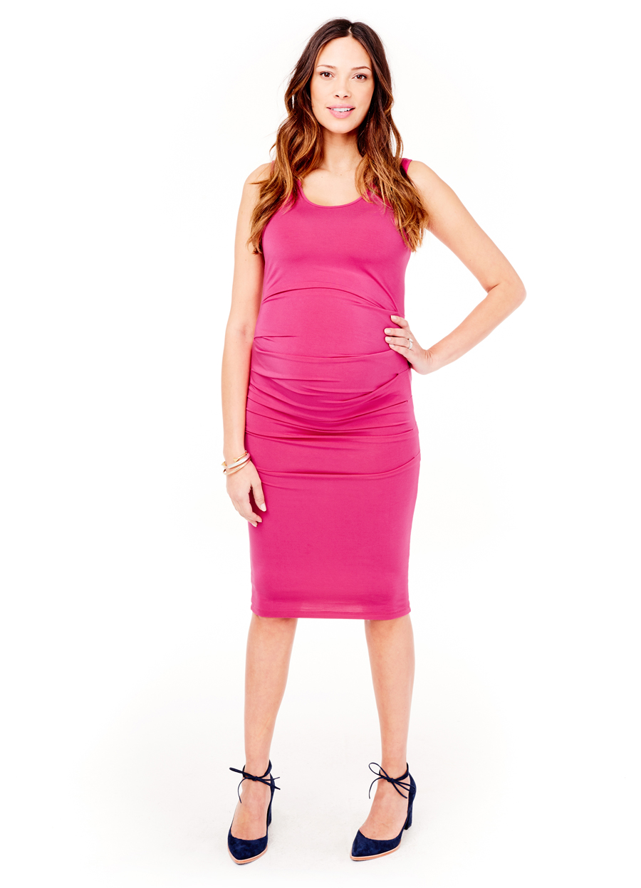 Pleated Tank Dress • Ingrid & Isabel Maternity