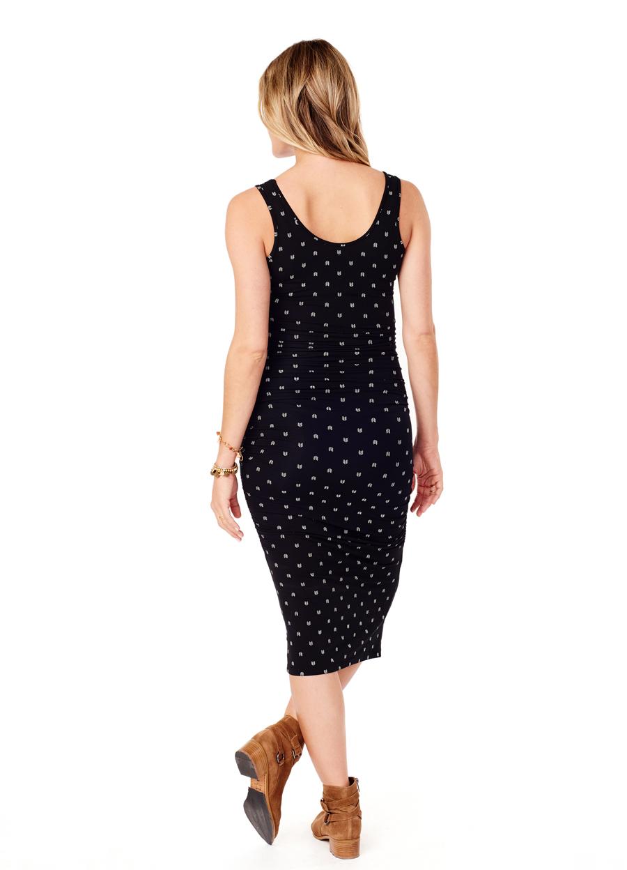 Arrow Print Dress • Summer It-Dress • Soft Pregnancy Tank Dress • Ingrid & Isabel