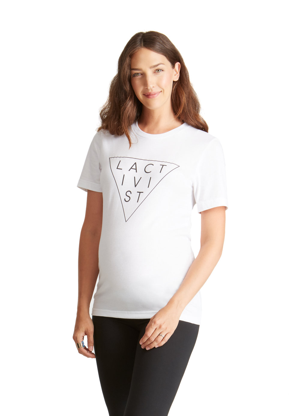 Lactivist T-Shirt • A Mother Is, the blog All For Mom •Ingrid & Isabel