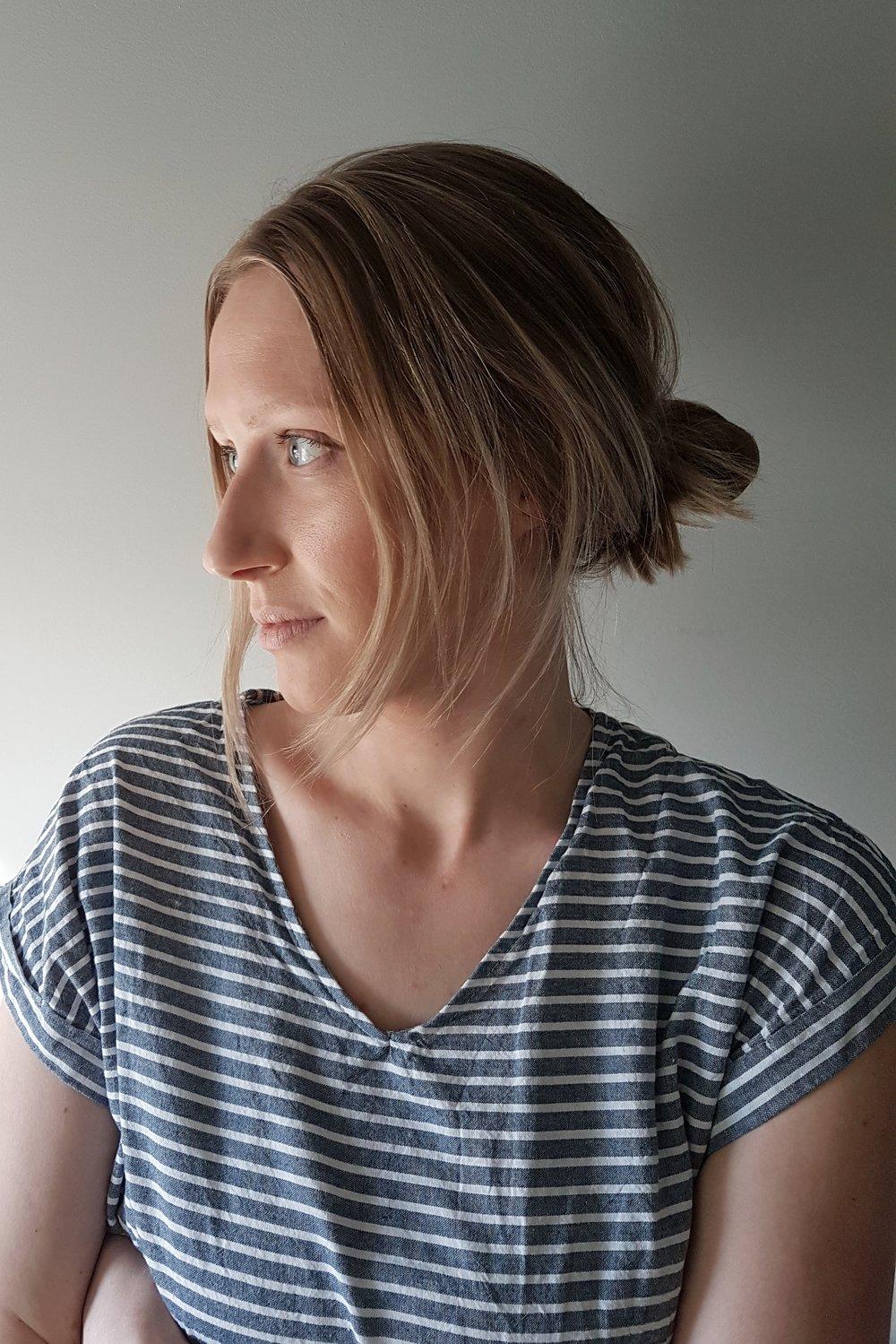 Kayla Gale, self portrait