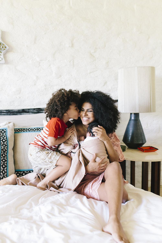Jennifer Evans • A Mother Is, the blog All For Mom • Ingrid & Isabel