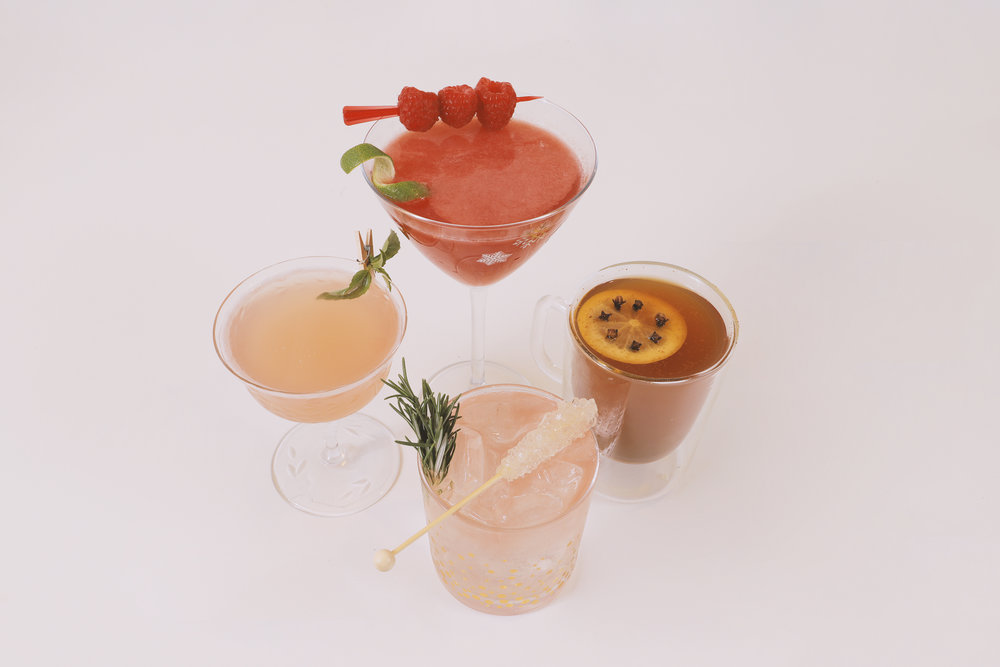 4 Holiday Mocktail Recipes for Mom • A Mother Is, the blog All For Mom • Ingrid & Isabel