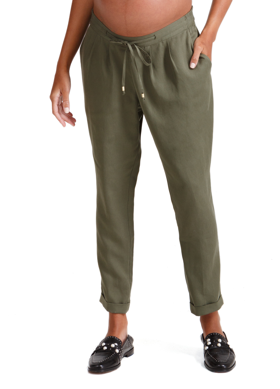 TAPERED ANKLE PANT — Ingrid & Isabel