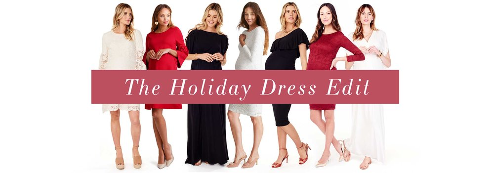 The Holiday Dress Edit •A Mother Is, the blog All For Mom • Ingrid & Isabel