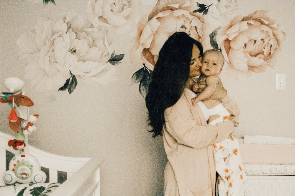 The Truth About Breastfeeding a Newborn • A Mother Is, the blog All For Mom • Ingrid & Isabel