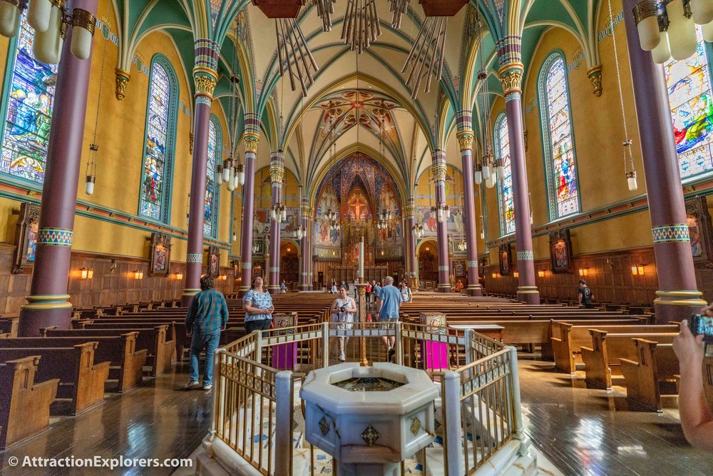 Catholic Cathedral of the Madeleine Salt Lake City tour.jpg