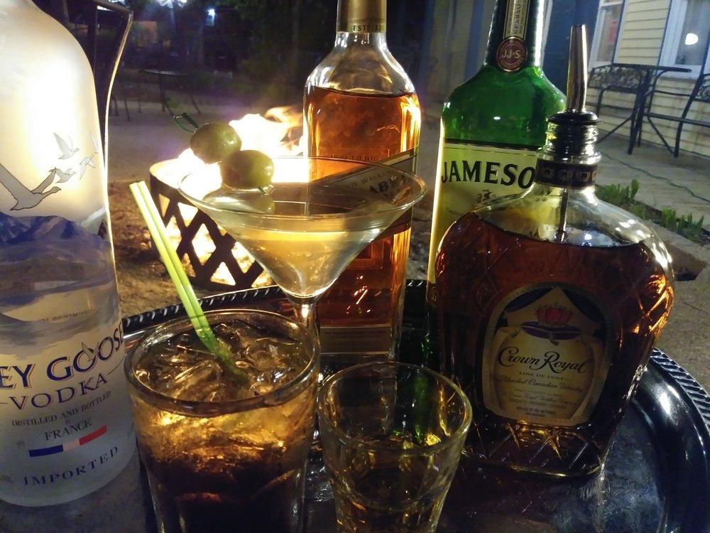 Liquors - Two for Ones ~ All Rail Liquors ~ 4pm-6pm