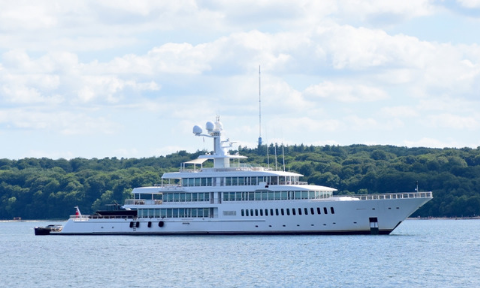 2011 - Lampert bought the 79th largest yacht in the world and named it the Fountainhead.
