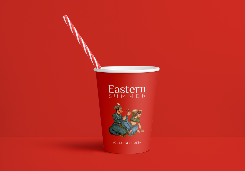 Paper cup eastern summer