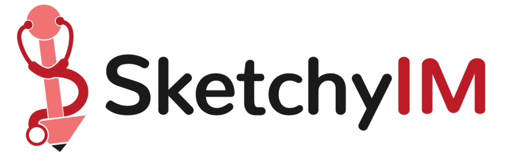 100+ Videos    Introducing SketchyIM, the newest addition to the Sketchy family! Aside from gaining access to tons of high yield, highly requested videos like hyper/hyponatremia and sepsis, we also have all new features. Use SketchyIM videos to work your way through differential diagnoses and SOAP notes.