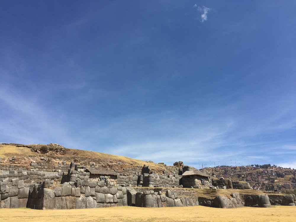 Incan Walls outside of Cusco, Peru