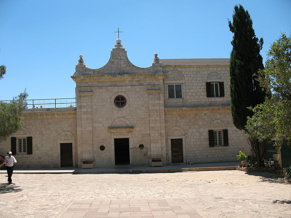 St. Elias Church at the Muhraka Monastery on Mt. Carmel, where the Carmelite Order was founded.By James Emery [CC BY 2.0 (https://creativecommons.org/licenses/by/2.0)], via Wikimedia Commons