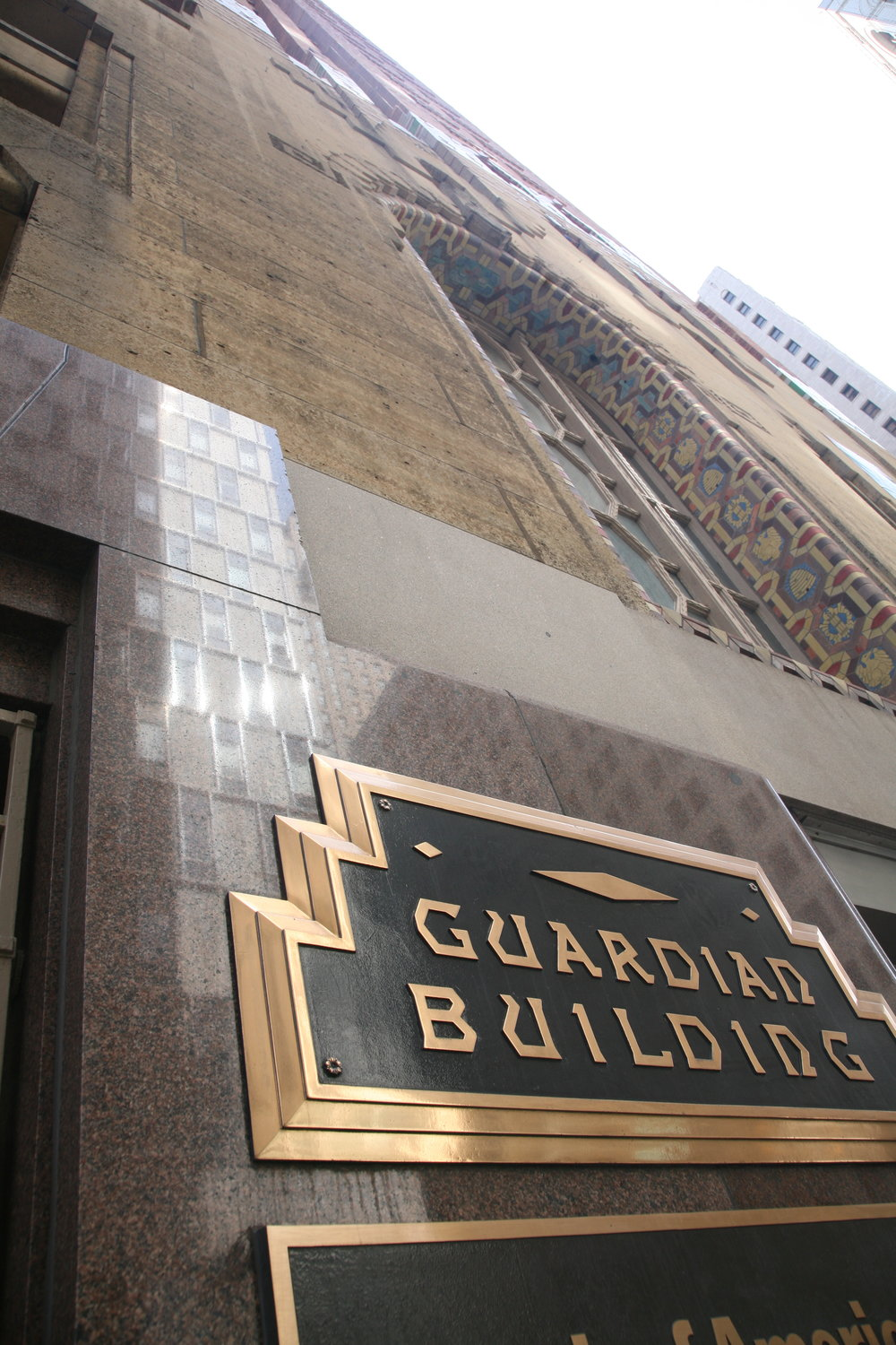 the Guardian Building is just one of many beauties we love in Midtown