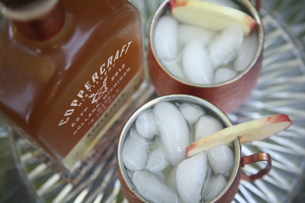 The  Coppercraft Distillery  Autumn Mule Collaboration!