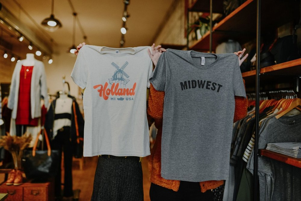 Local t-shirt vibes at Frances Jaye!