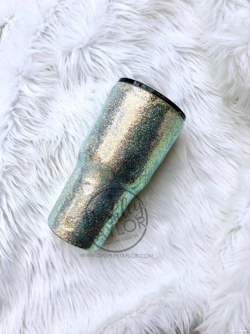 6a49d9b7a4d Opal Shimmer Glitter Tumbler — Dashley Taylor