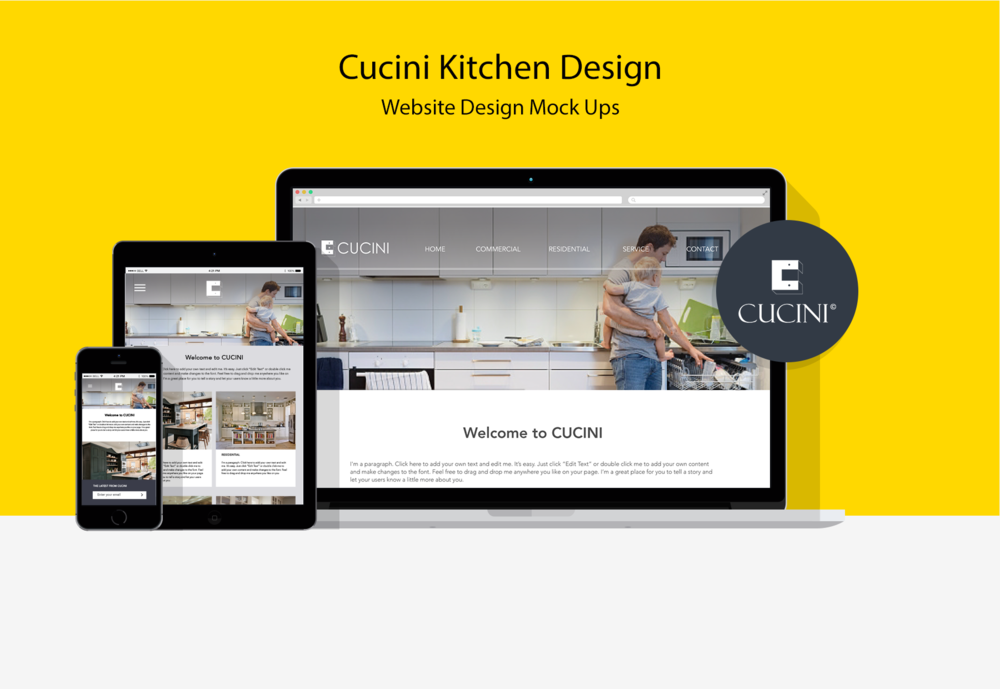 Cucini Kitchen Branding