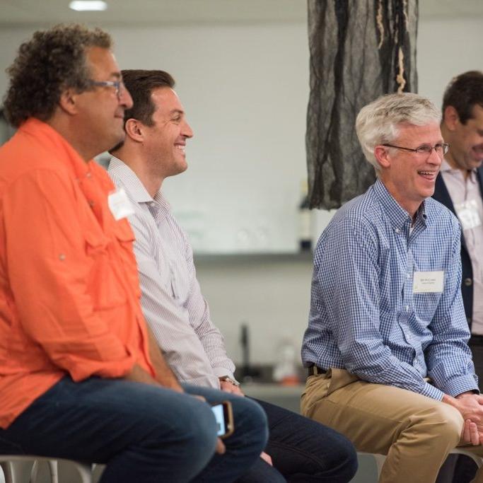 Venture Partner Woody Benson (left) with CIO Bill McCullen (right)