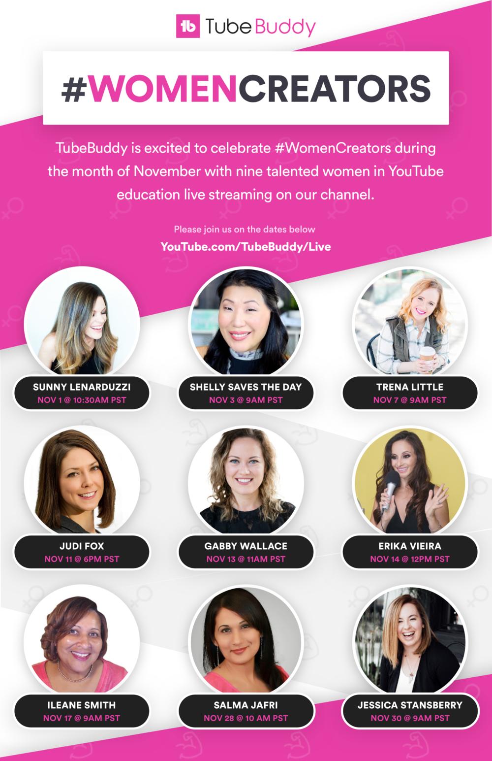 TubeBuddy#WomenCreators.png