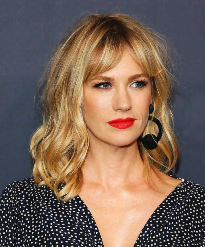 Curtain Fringe - Bangs are back! This year the focus is on the curtain fringe which is a much more low-commitment look than the blunt bangs noted over the last few years. Ask your stylist to cut your fringe the shortest where you part your hair and angle them down subtly on each side.