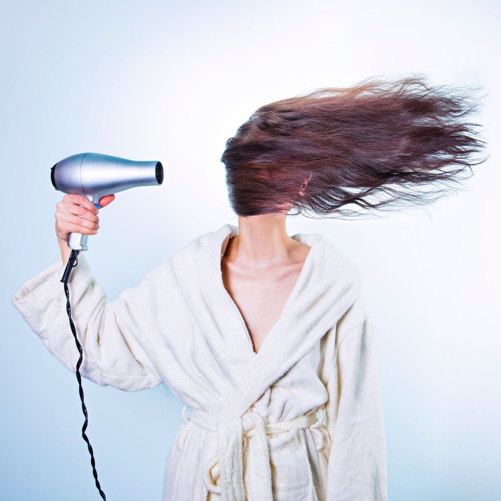 Dry Your Hair Properly - If you turn to a blow dryer to dry your hair after washing, consider how the professionals at Inscape Beauty Salon dried your hair during your appointment. Although it is tempting to dry it quickly and brush it out afterwards, comb the hair prior to drying and continue to brush during the process for salon results.